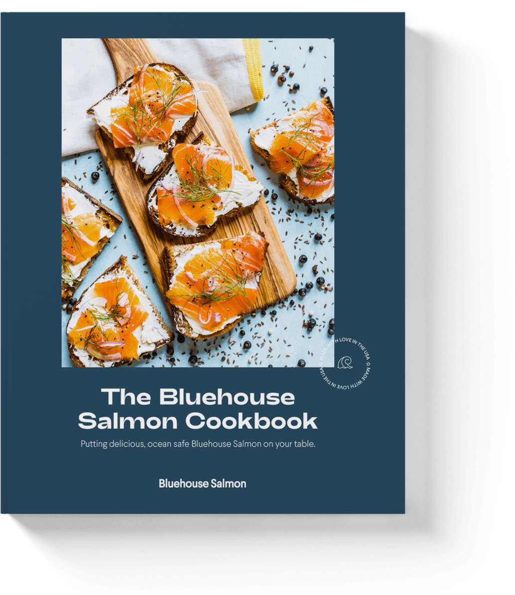 Bluehouse Salmon Cookbook cover