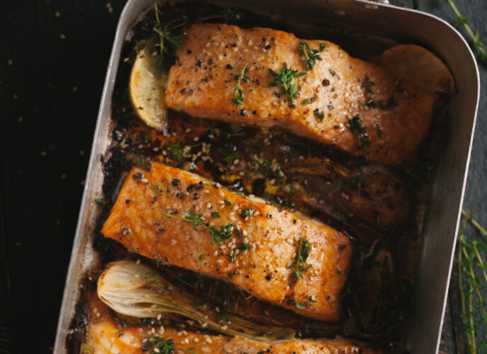 Salmon is a great option for a variety of diets.